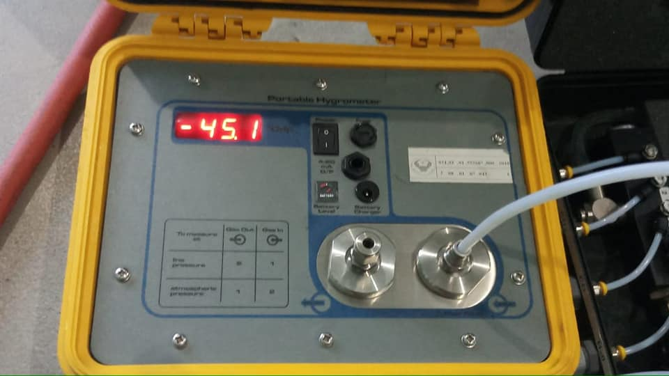 BPFK melakukan tes pekerjaan gas medis
