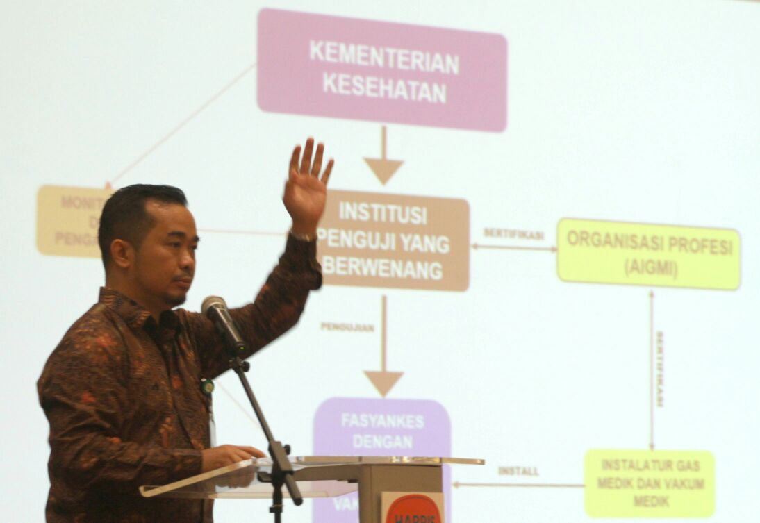 Kemenkes Gelar Workshop Instalasi Gas Medik