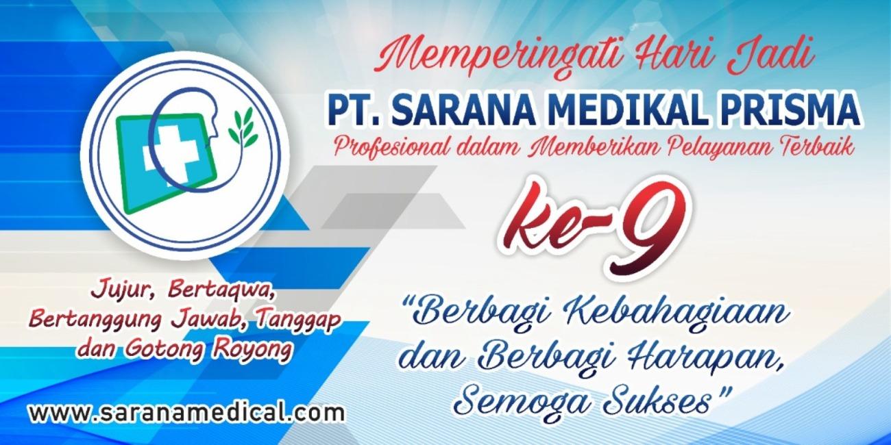 Dirgahayu ke 9 Sarana Medikal Prisma